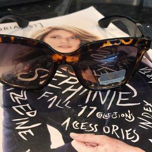 Franco Sarto Tortoise Sunglasses
